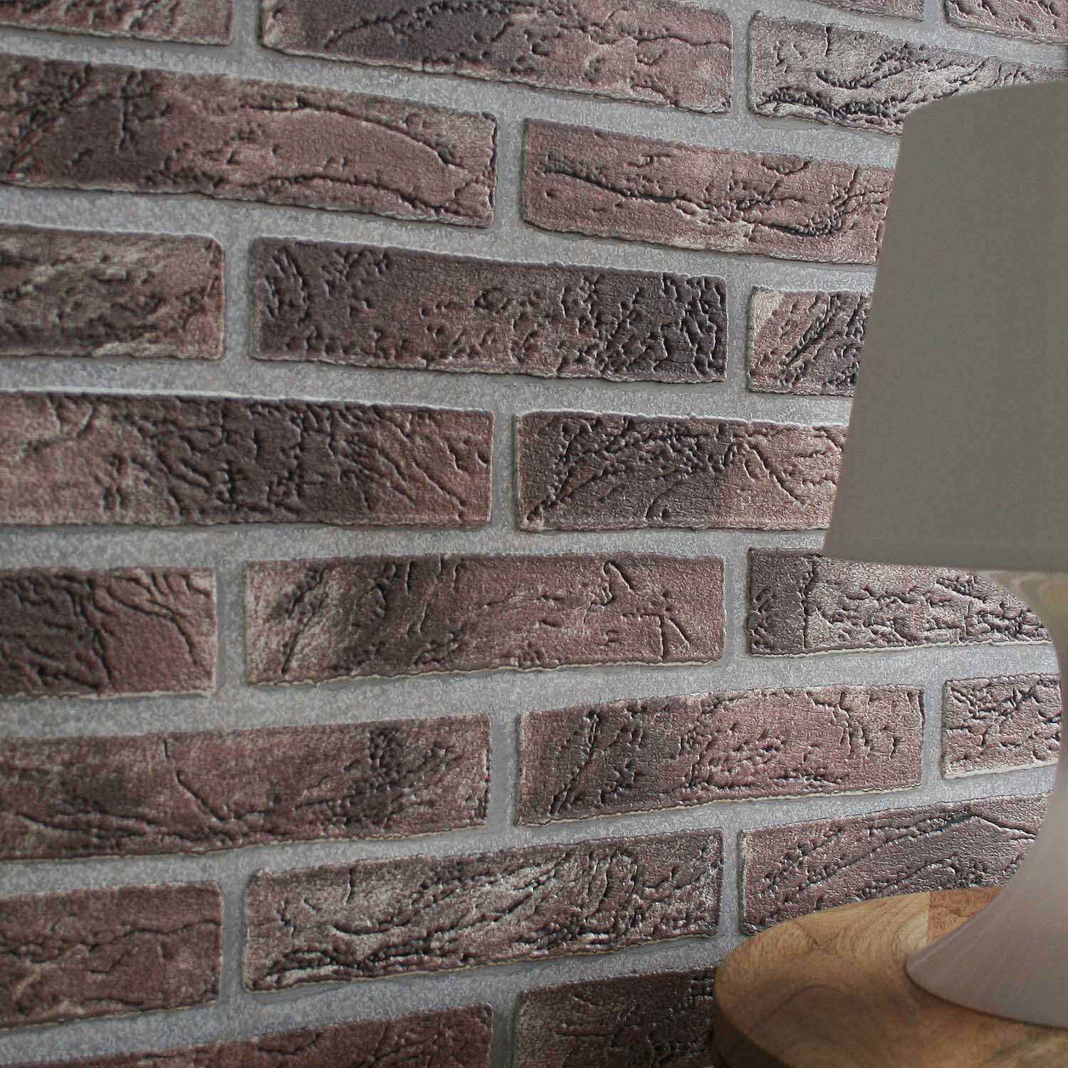 House Brick | 3D Brick Wallpaper Red & Brown Tones