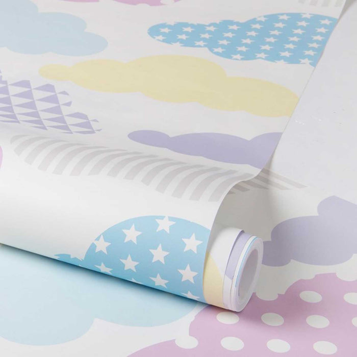 Up up and away Cloud Wallpaper | Candy & White