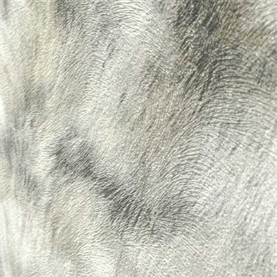 SALE LAST ROLL Fur Effect Wallpaper | Grey & White - Your 4 Walls