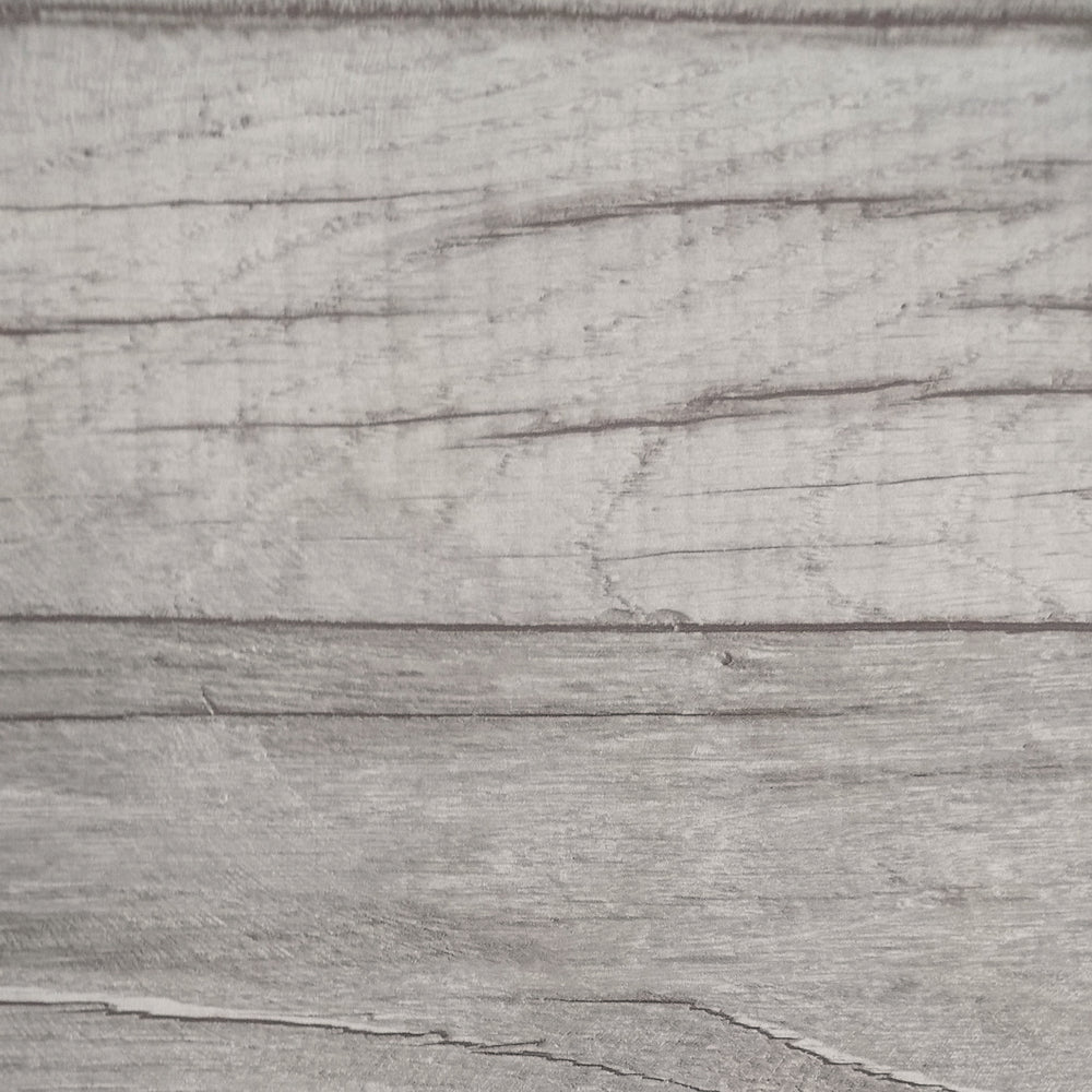 Timber Wood Effect Textured Wallpaper | Grey Taupe Toned washed effect
