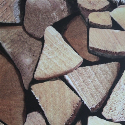 Wood Blocks Wood Effect Wallpaper | Beige