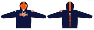 YOUTH Dawgs Pullover Hoodie (Navy/Orange)
