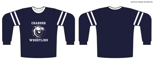 Youth Corner Canyon Wrestling Long Sleeve Tee
