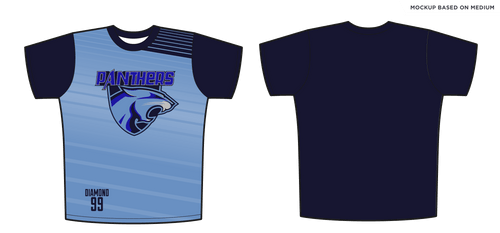 Adult Oval Hockey Panthers Full Sub T-Shirt