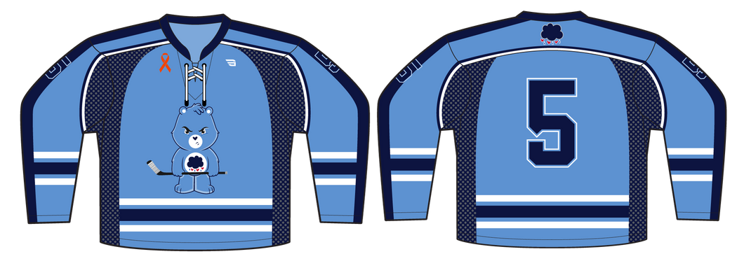 588-SUB Grumpy Bears Hockey Jersey