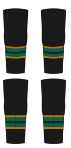 ADULT PLAYER Jr. Grizzlies Hockey Game Socks Black