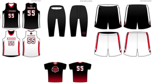 Men's Kongo Basketball Bundle #2 w/ Short Sleeve