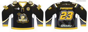 588-SUB Youth Honey Badgers Hockey Jersey