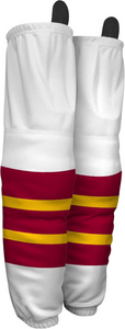 584A-SUB Lone Wolves Adult Hockey Socks White