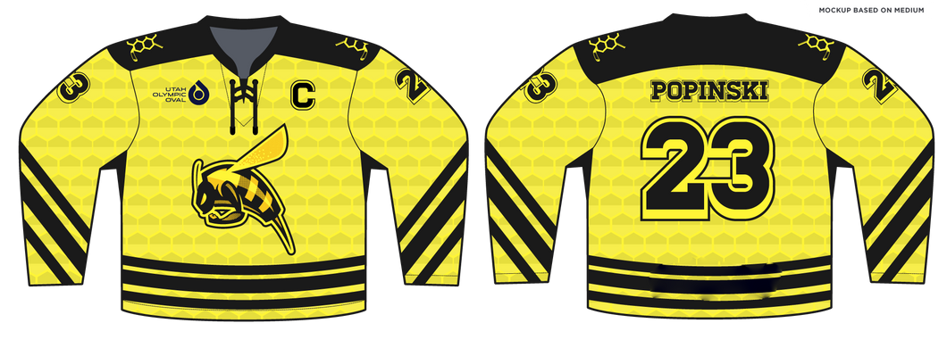 588-SUB Youth Hornets Hockey Jersey