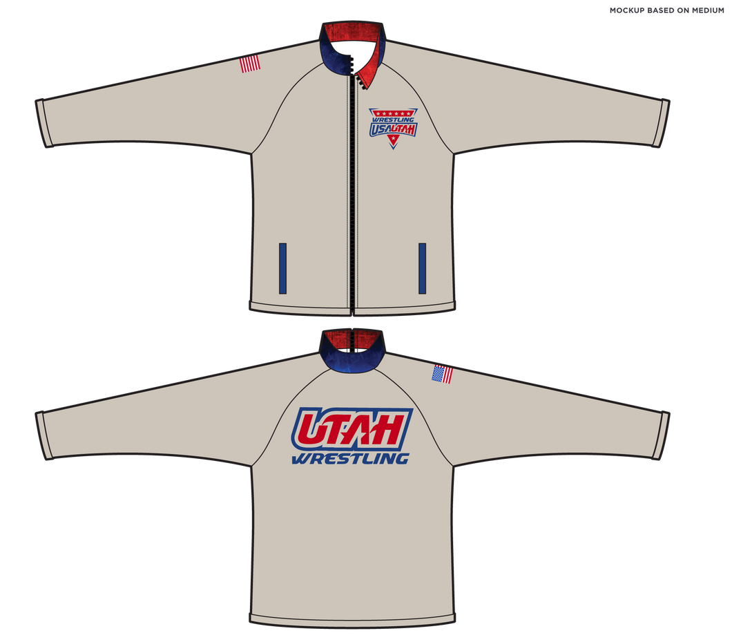 Men's 1013-PAN USA Wrestling Utah Jacket