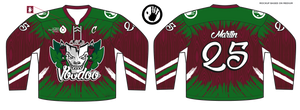 588-SUB Salt City VooDoo Hockey Jersey