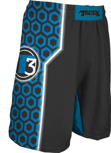 "217-SUB Boy's Tactik 9"" Fight Short Blue"
