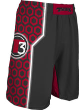 "217-SUB Men's Tactik 9"" Fight Short Red"