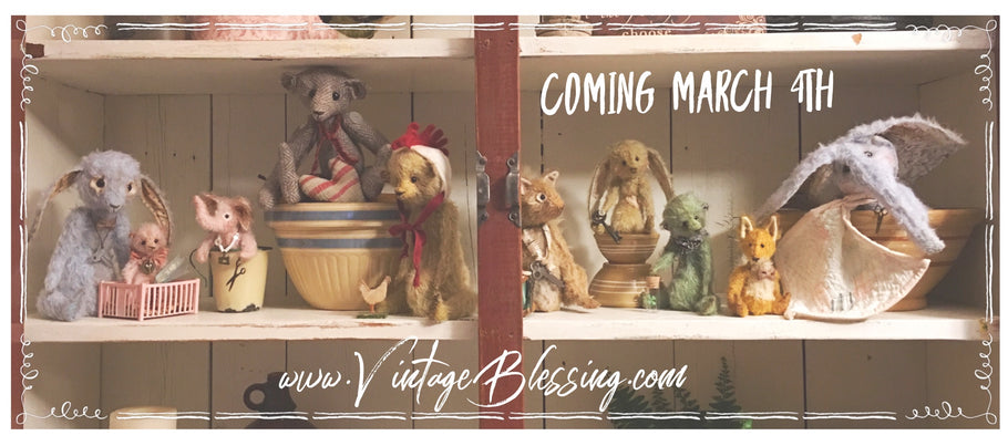 Mohair Bears & Friends are coming March 4th!