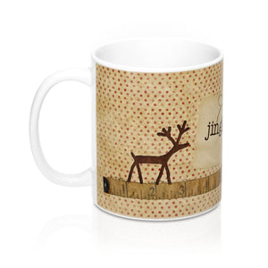 Reindeer Jingle Bell Mugs