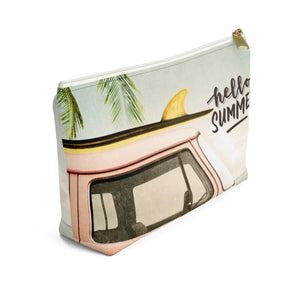 Hello Summer - Surf's Up Summer Accessory Pouch w T-bottom