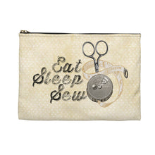Quilters Eat Sleep Sew - Accessory Pouch