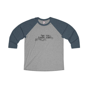 May Your Bobbins Always Be Full - Raglan T-shirt