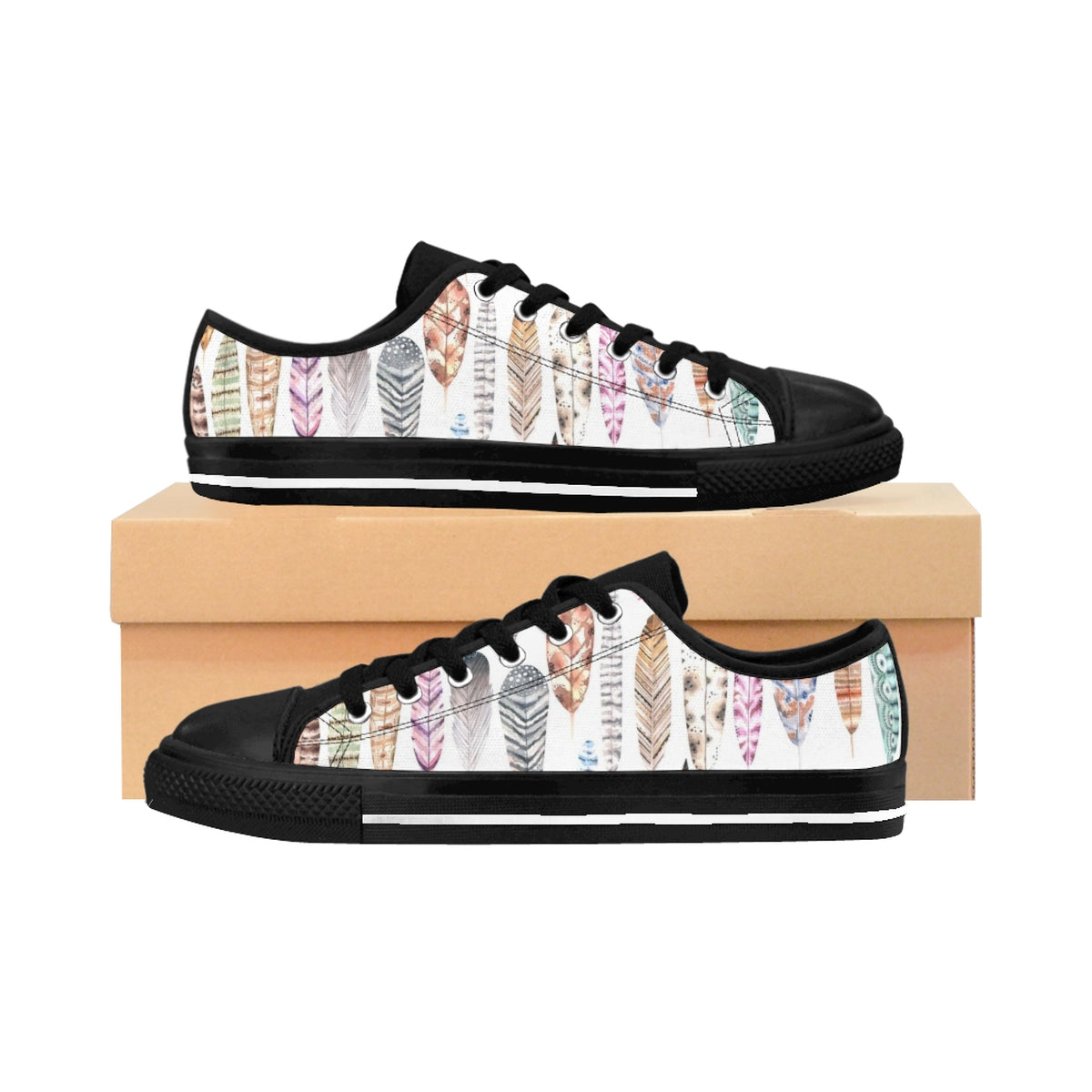Women's Sneakers - Soar High Fun - Feathers