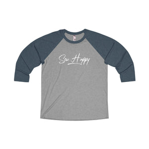 Sew Happy Raglan T-shirt