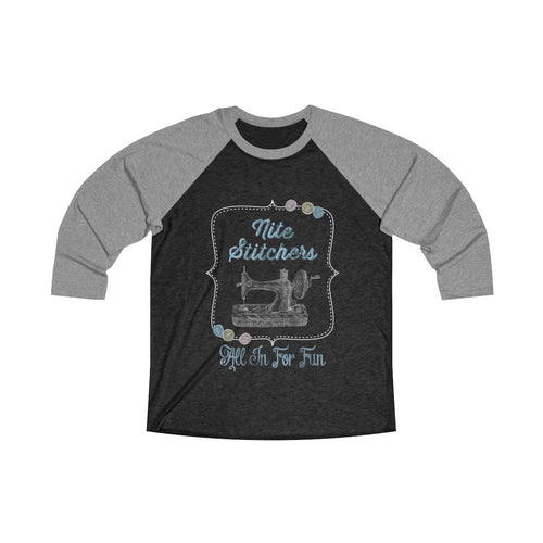 Nite Stitchers All In For Fun -  Raglan T-shirt
