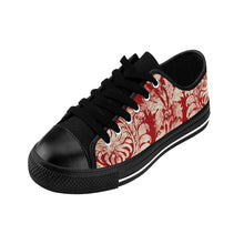 Women's Sneakers - French Fun - Red French Grunge