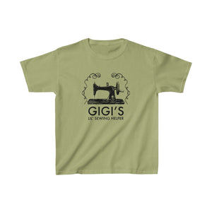Gigi's Lil' Sewing Helper - Kids Heavy Cotton Tee