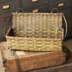 Master Keep Foyer Basket - Dark Mustard Yellow