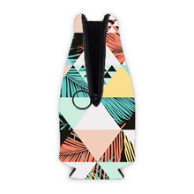 Chasin the Sun - Retro Triangle and Palm Summer Zippered Bottle Koozies