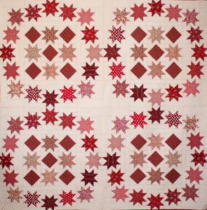 Star Stepping Quilt ePattern