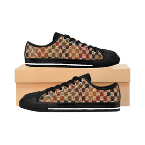 Women's Sneakers - Quilt Lovers Fun - Multi-Colored