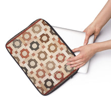 Printed Quilt Tablet / Laptop Sleeve - Scrappy Patchwork