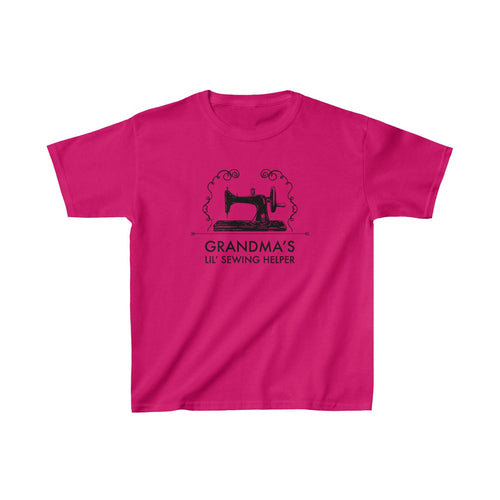 Grandma's Lil' Sewing Helper - Kids Heavy Cotton™ Tee