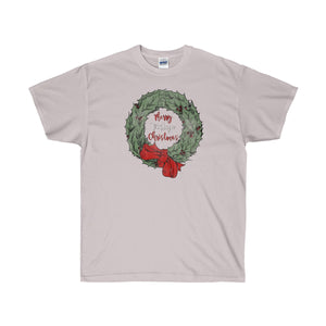Merry Vintage Christmas Ultra Cotton T-Shirt