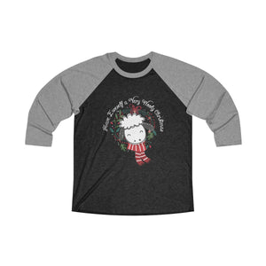 Have Eweself a Very Wooly Christmas - Raglan Tee