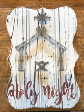 String Art - Manger Scene - Holy Night