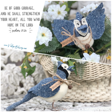 Courageous Wool Blue Jay