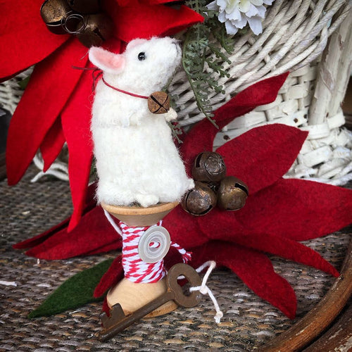 """Pip"" or ""Squeak"" Christmas Mice"