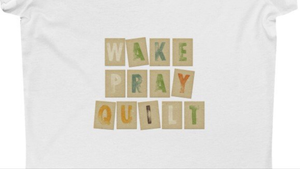 Wake Pray Quilt Ultra Cotton T-Shirt