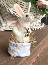 Lil' Quilter Bunny - Wool rabbit