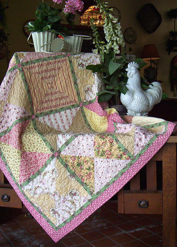 Only A Few Hours Quilt - (large block) ePattern