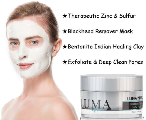 Luma Mask - Facial Mask For Deep Pore Cleansing & Blemishes