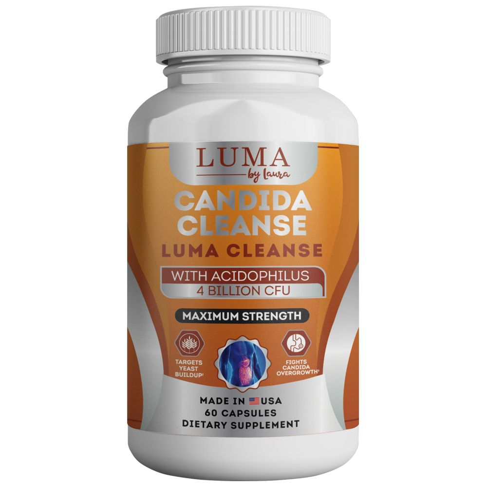 Luma Cleanse - Candida Detox with Caprylic Acid to Support Gut Health