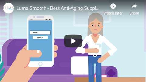 Luma Smooth Anti-Aging Supplements With Collagen for Smoother & Healthier Skin