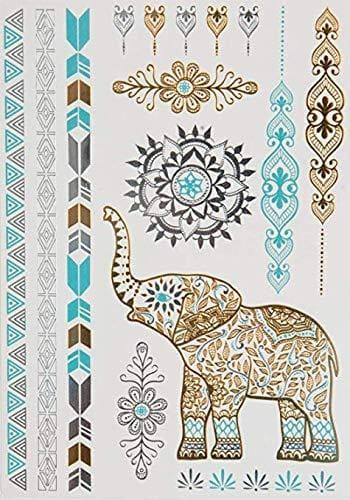 Thea Goddess Temporary Metallic Tattoos - Luma by Laura