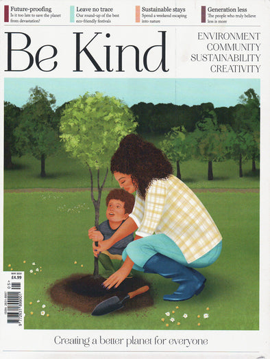 Be Kind magazine featuring saint iris adriatica