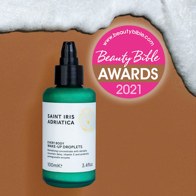 Wake-Up Droplets serum wins Beauty Bible 2021 for Miracle Serum