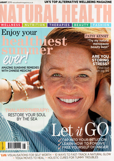 Natural Health magazine features Saint Iris Adriatica
