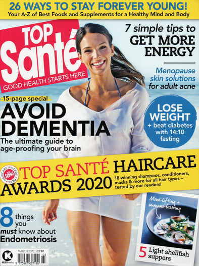 March 2020 Top Sante feature Saint Iris